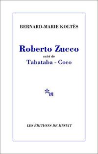 Roberto Zucco, suivi de Tab...
