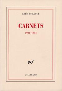 Carnets (1921-1944)
