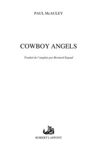 Cowboy angels | MCAULEY, Paul