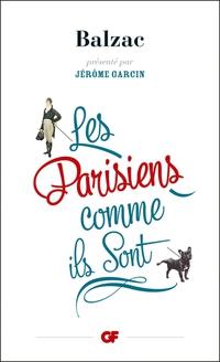 Les Parisiens comme ils sont   Balzac, Honoré (de)