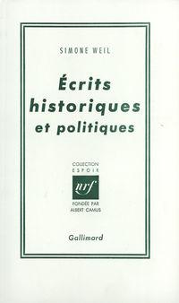 Écrits historiques et polit...