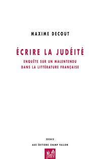 Ecrire la judéité