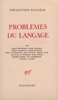 Problčmes du langage