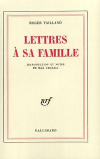 Lettres ŕ sa famille