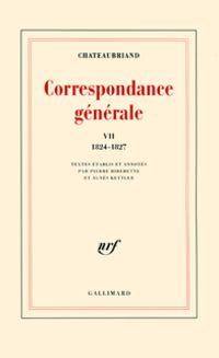 Correspondance générale