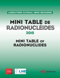 Mini Table de radionucléides 2015