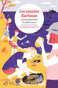 Les cousins Karlsson Tome 5 - Vaisseau fantôme et ombre noire |