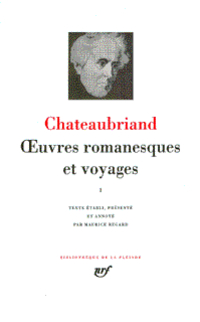 Œuvres romanesques et voyages