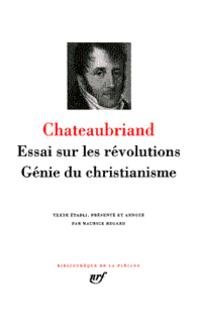 Essai sur les révolutions -...