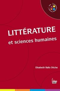 Littérature et sciences humaines