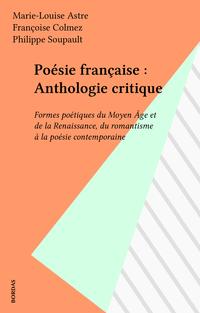 Poésie française : Antholog...