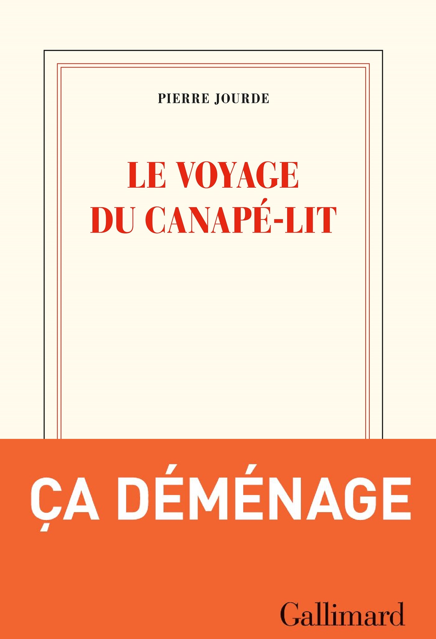 Le voyage du canapé-lit | Jourde, Pierre