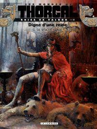 Les mondes de Thorgal, Kriss de Valnor. Volume 3, Digne d'une reine