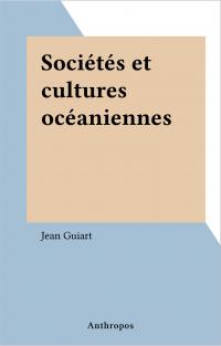 Sociétés et cultures océani...