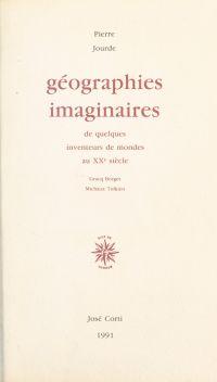 Géographies imaginaires de ...