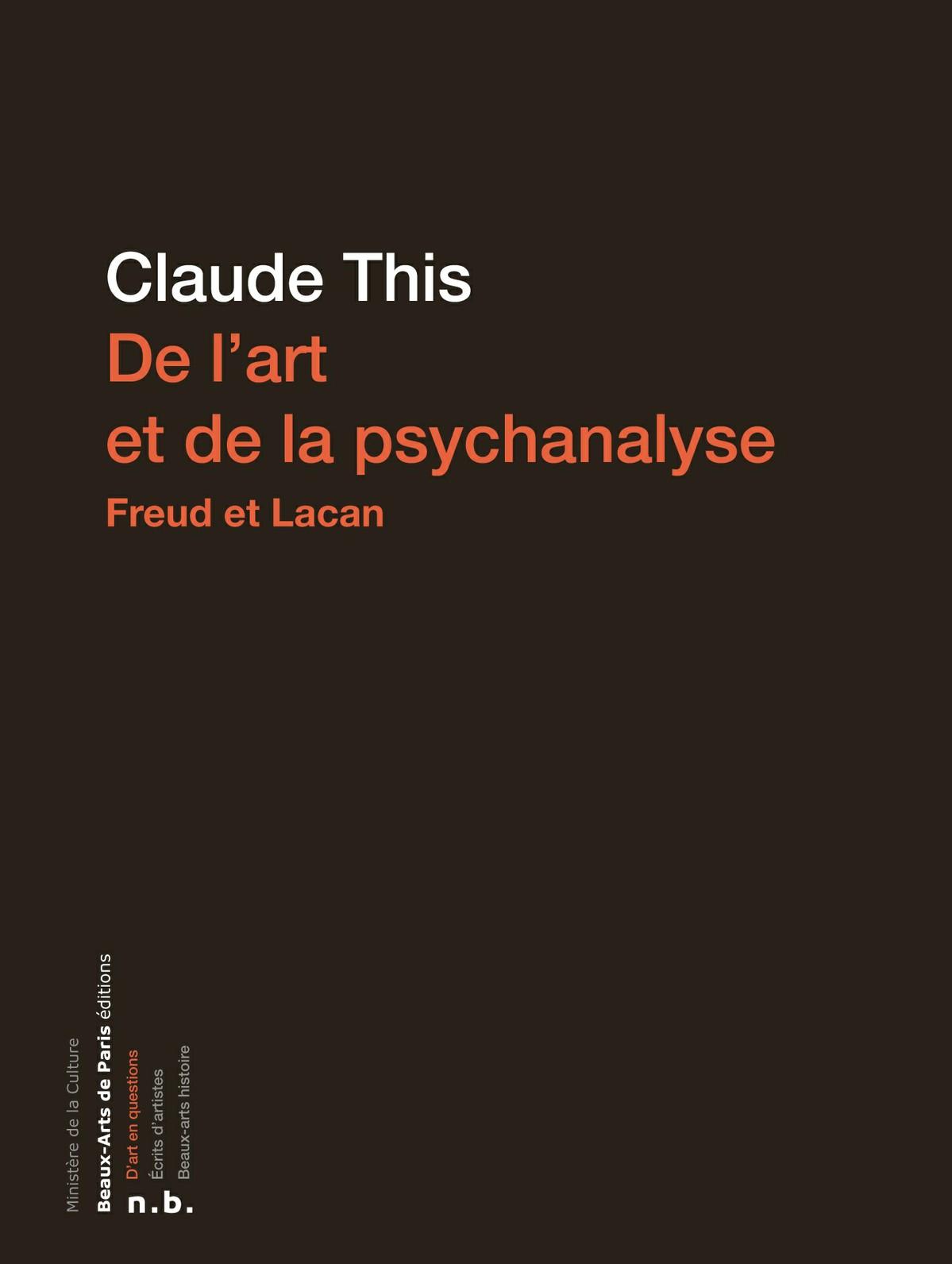 De l'art et de la psychanalyse