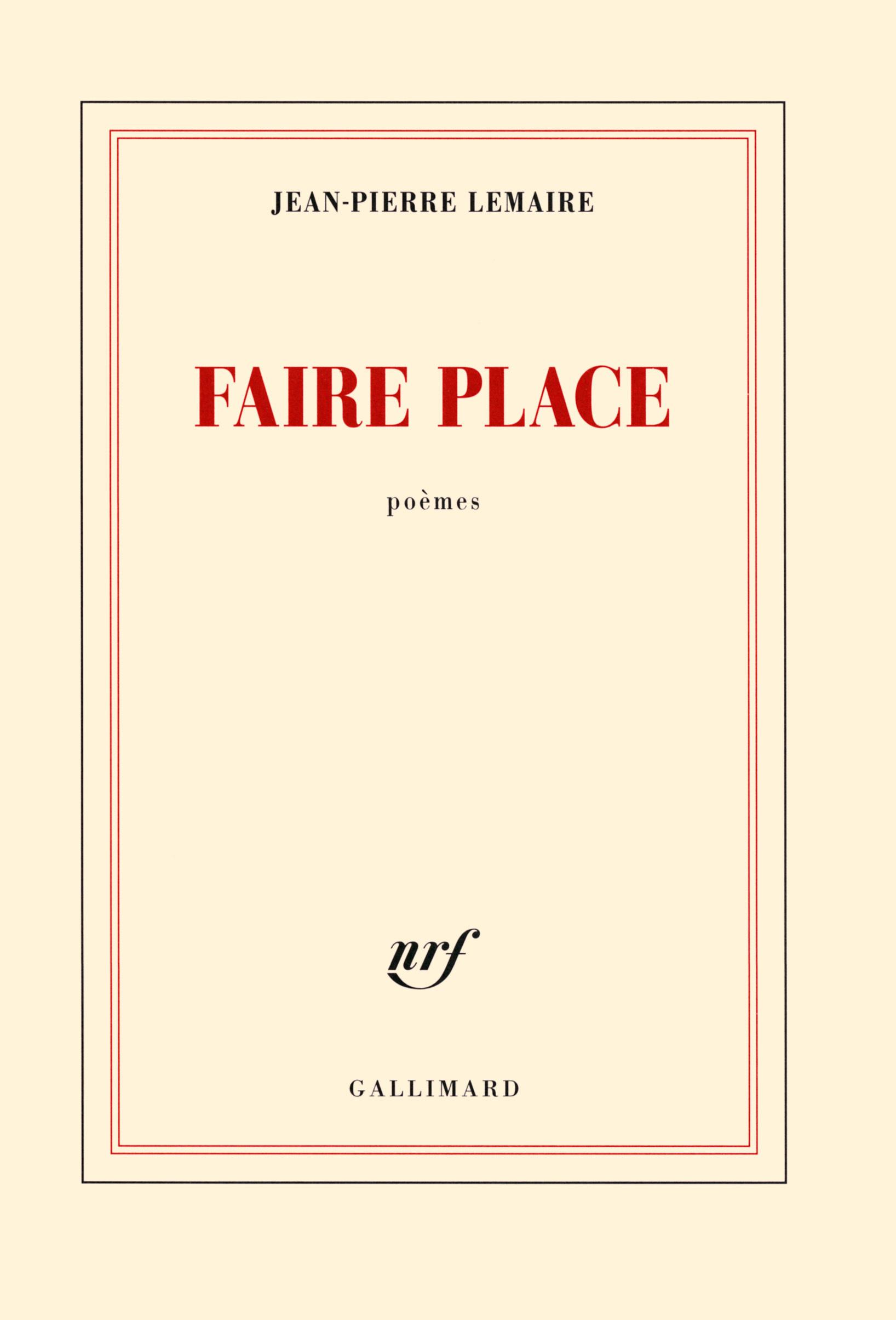 Faire place