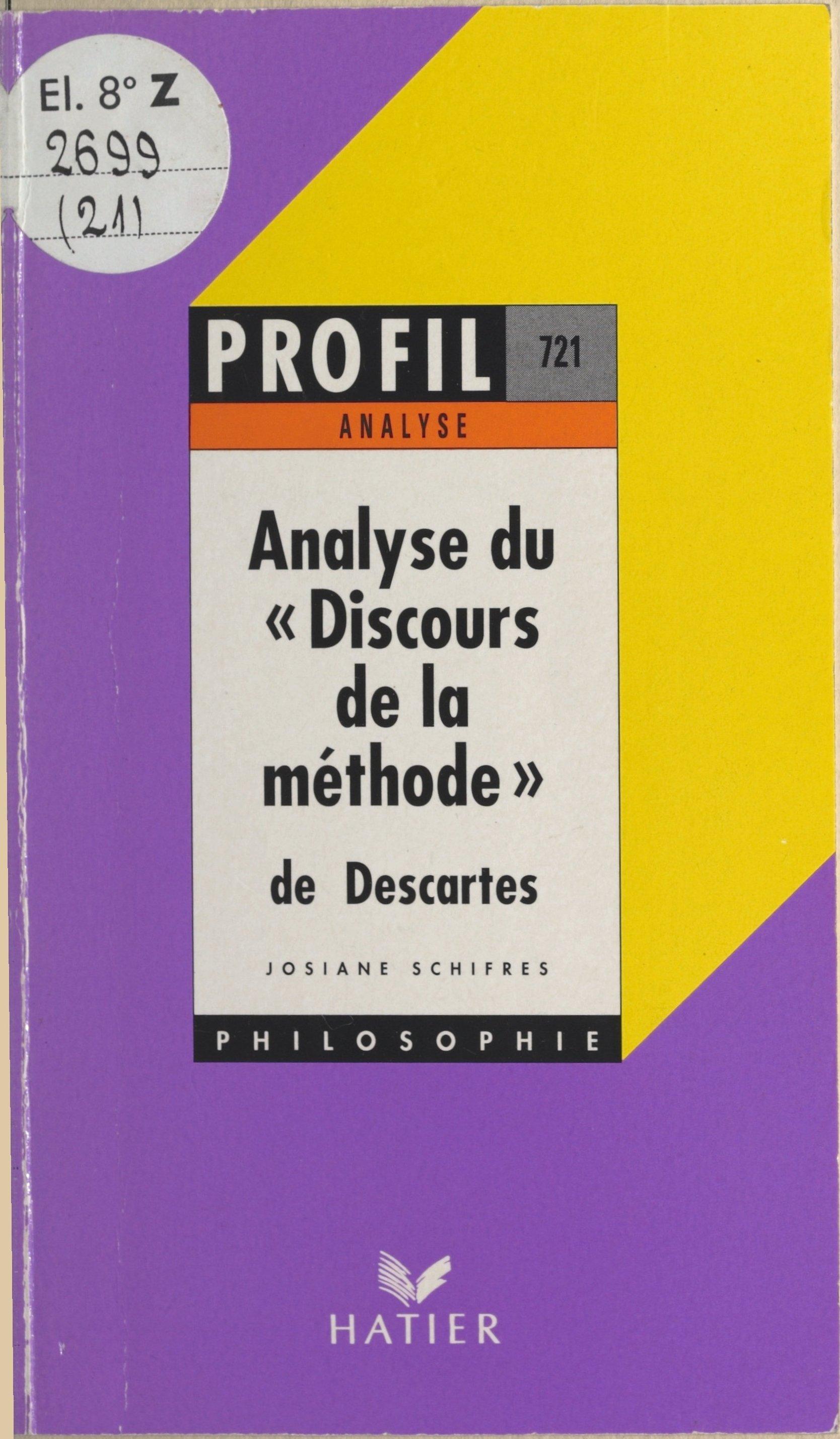 Discours de la méthode, 163...