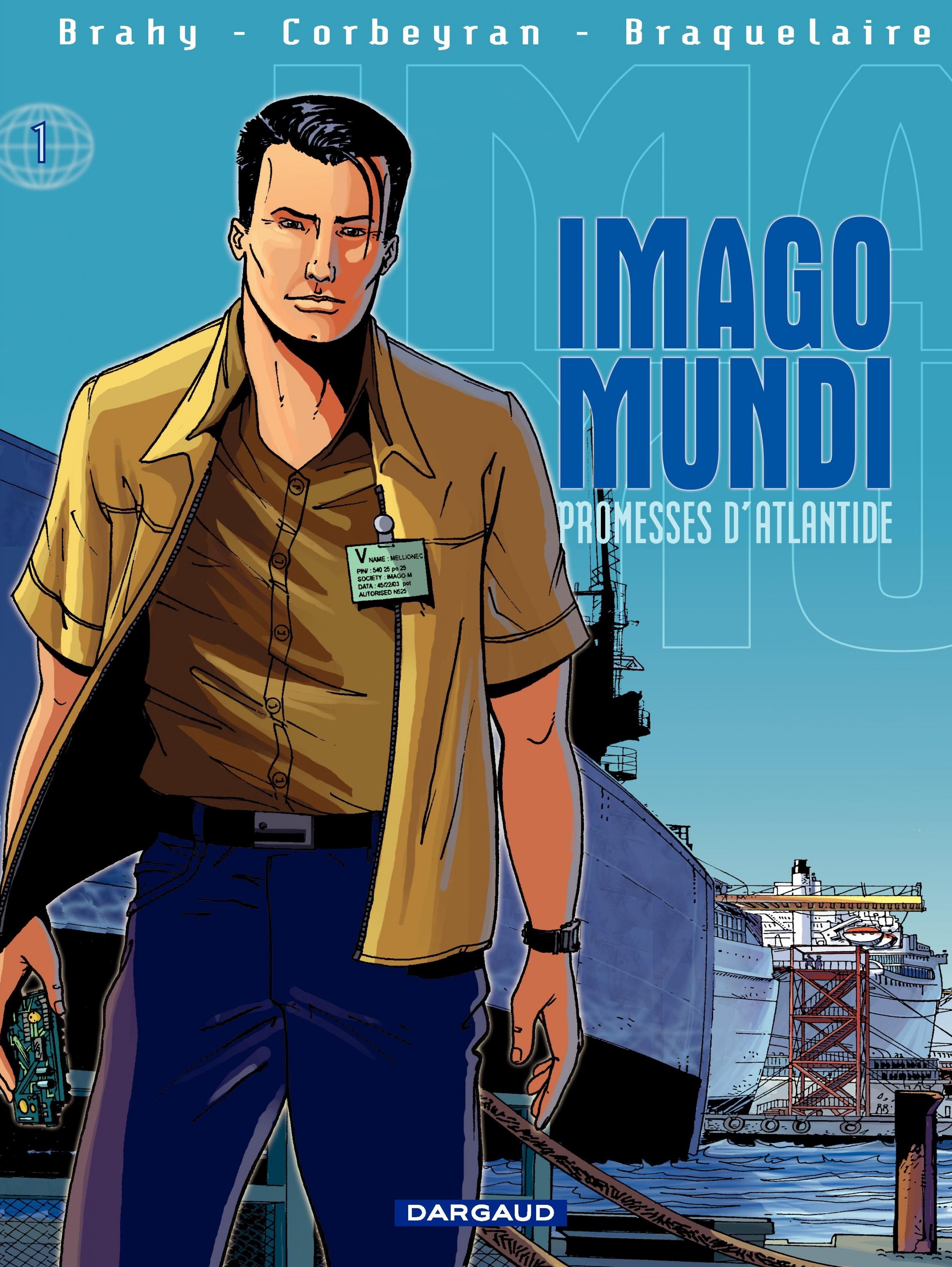 Imago Mundi - Tome 1 - Promesses d'Atlantide