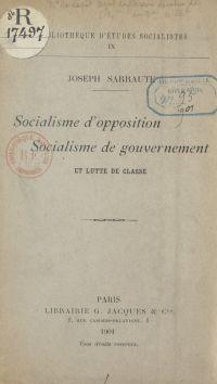 Socialisme d'opposition, so...