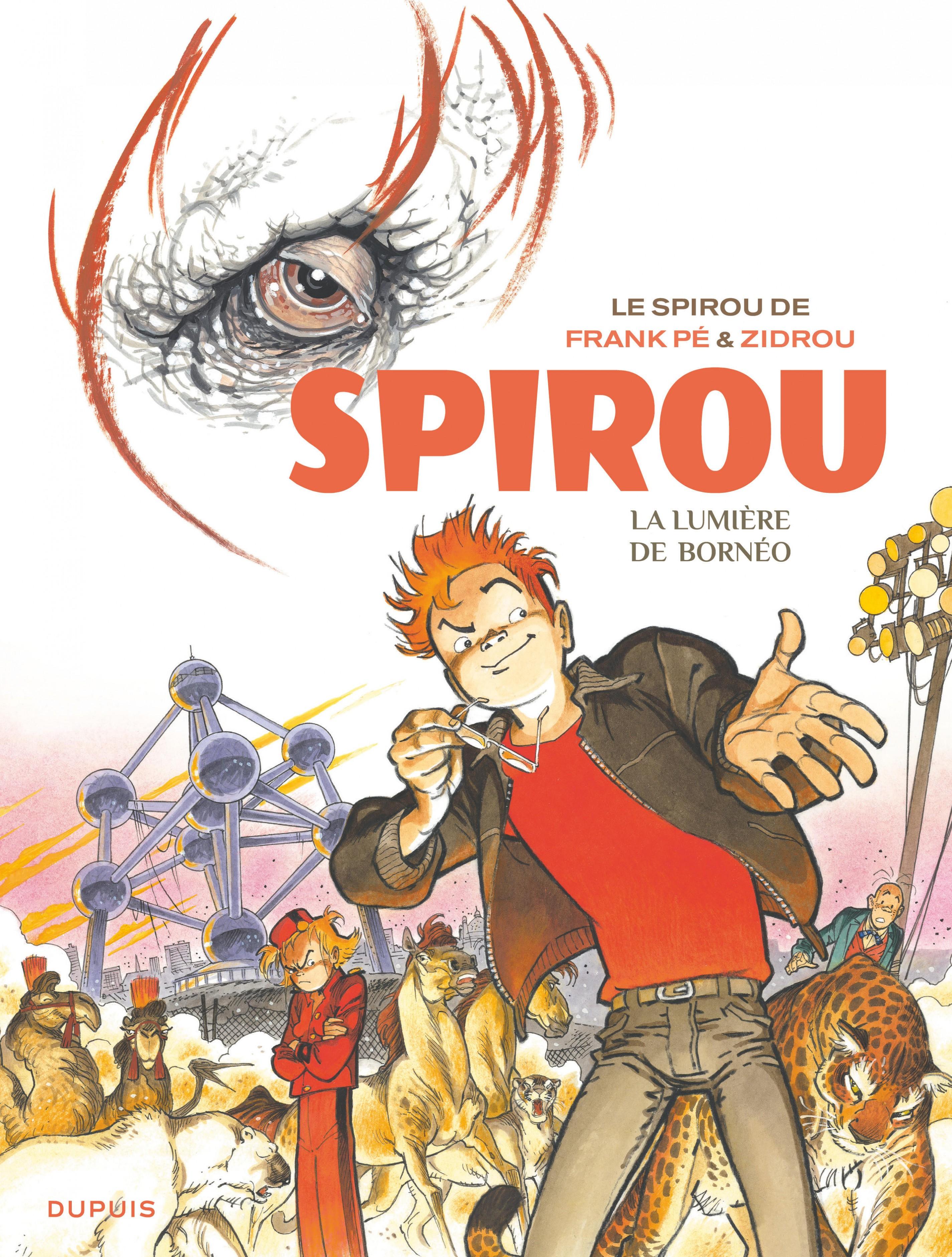 Le Spirou de Frank Pé et Zidrou -  La lumière de Bornéo