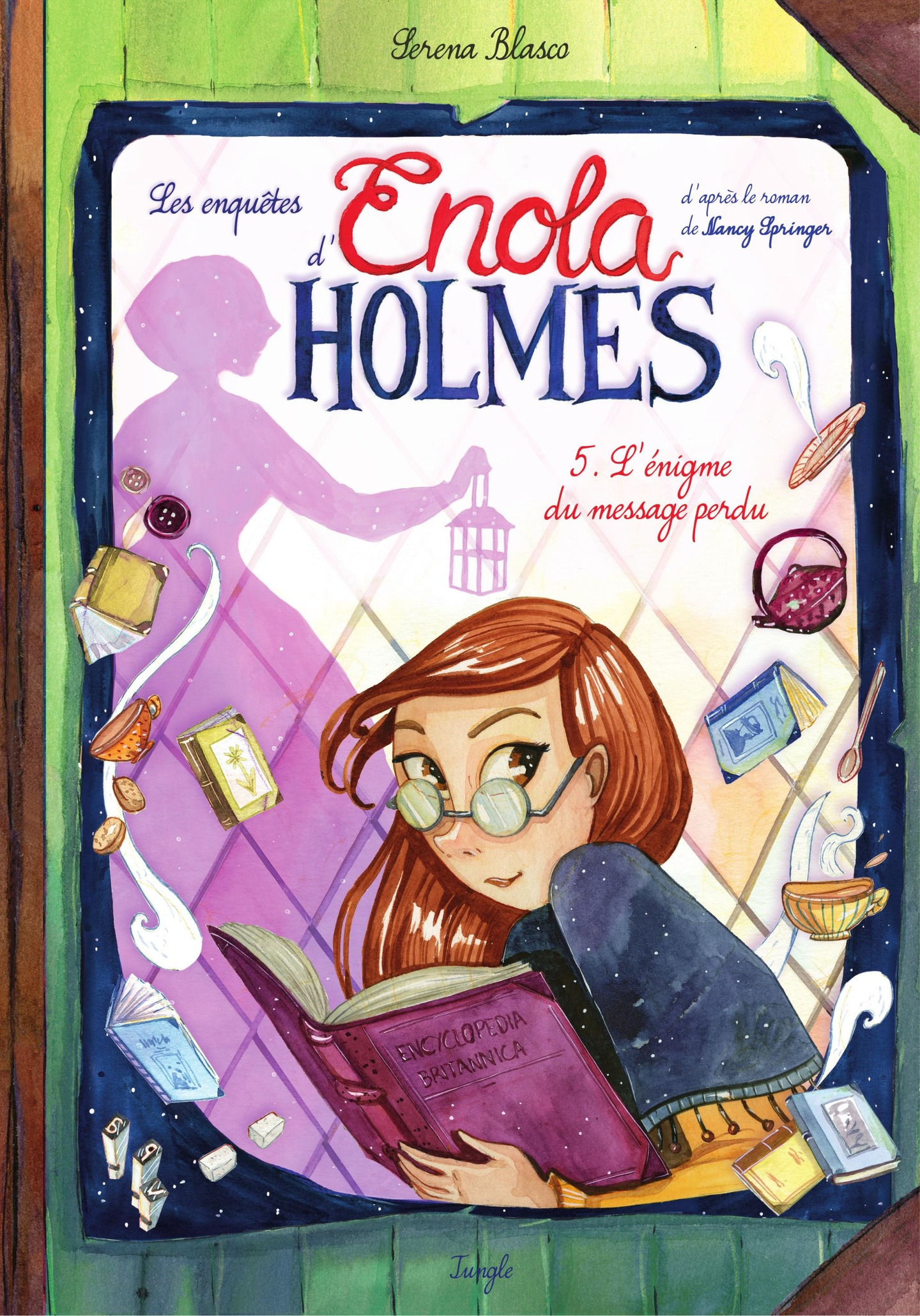 Enola Holmes - Tome 5