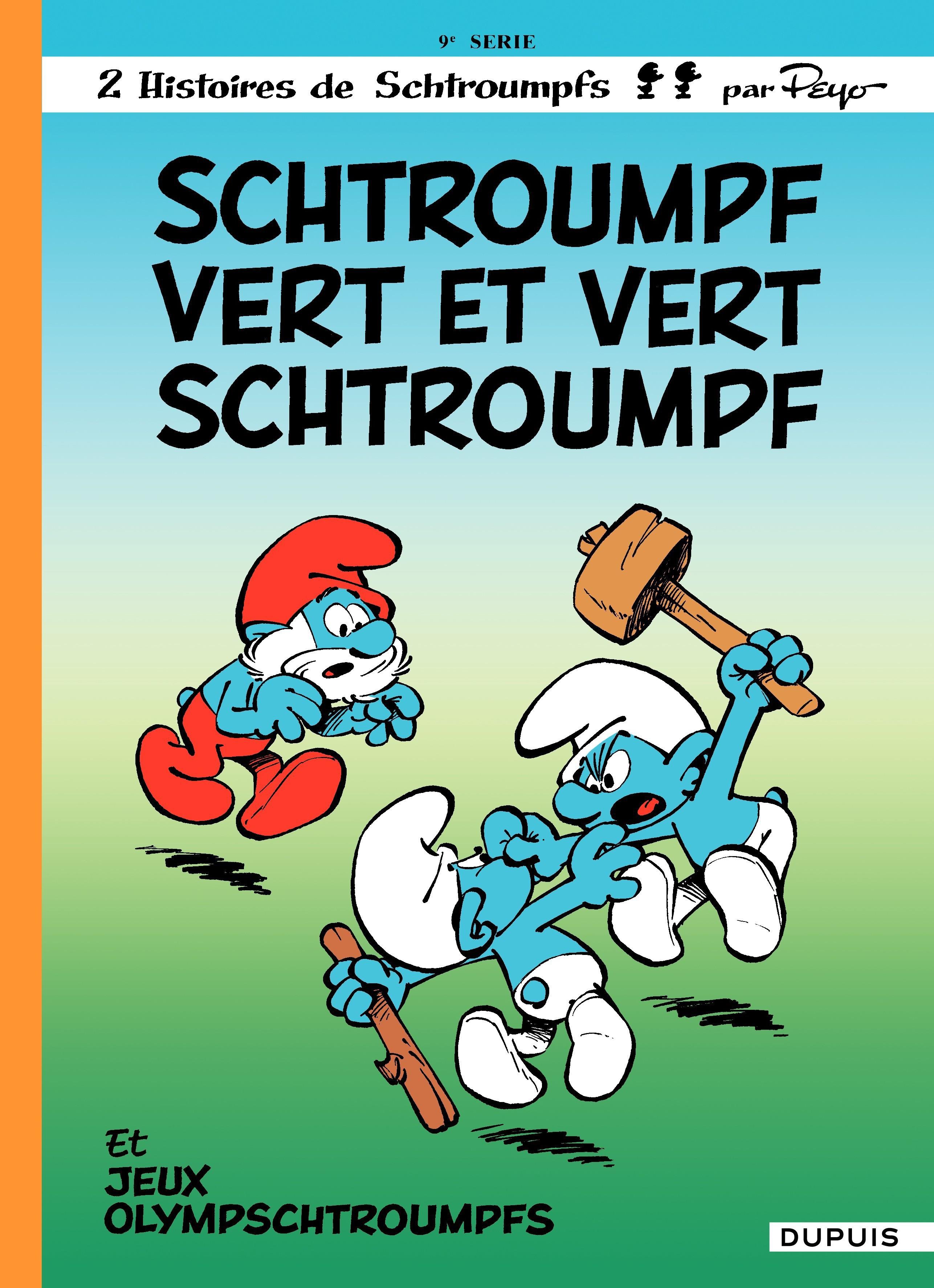 Les Schtroumpfs - tome 09 - Schtroumpf Vert et Vert Schtroumpf