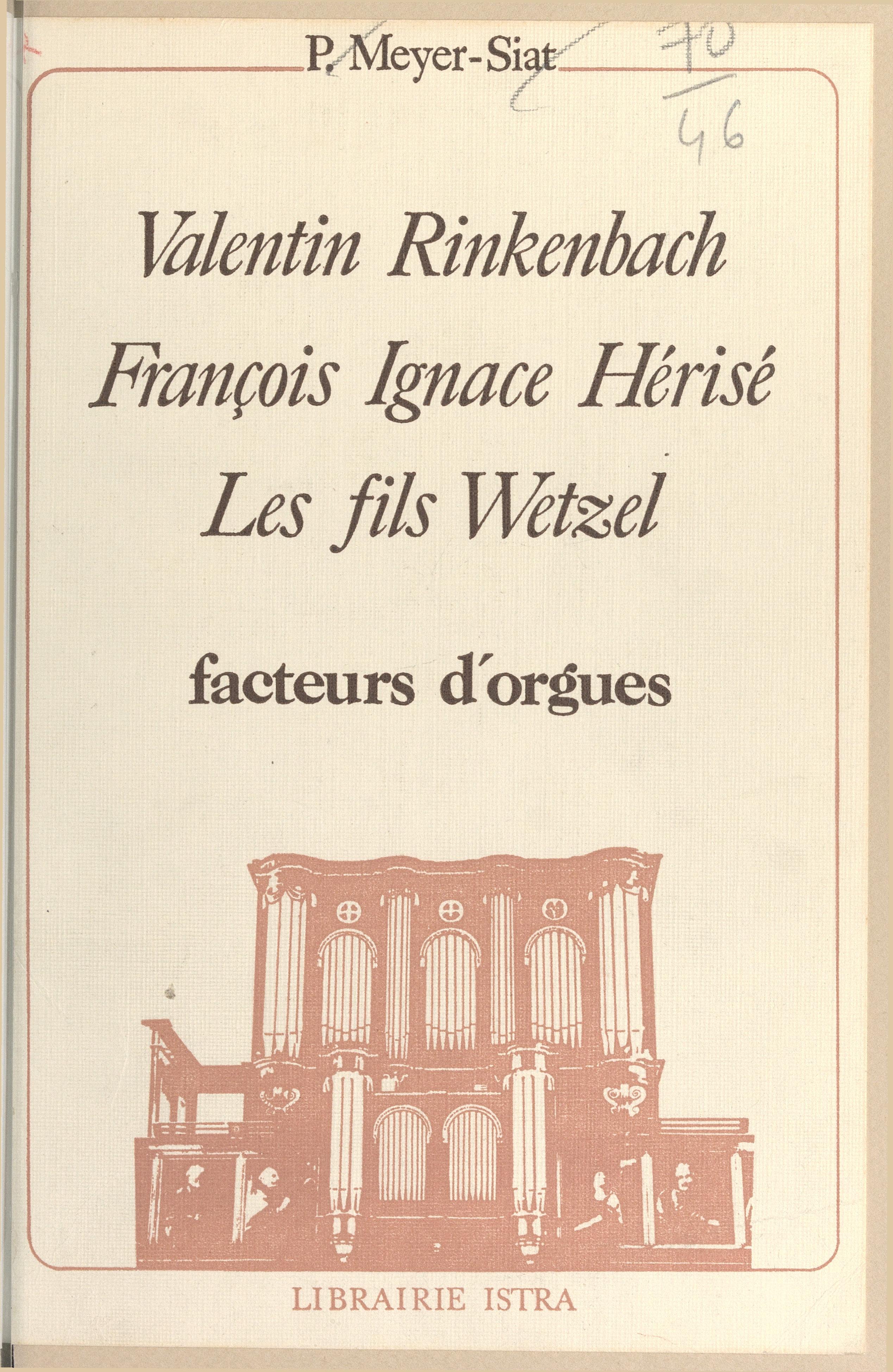 Valentin Rinkenbach, Franço...