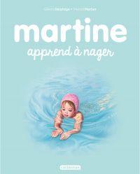 Image de couverture (Martine apprend à nager)