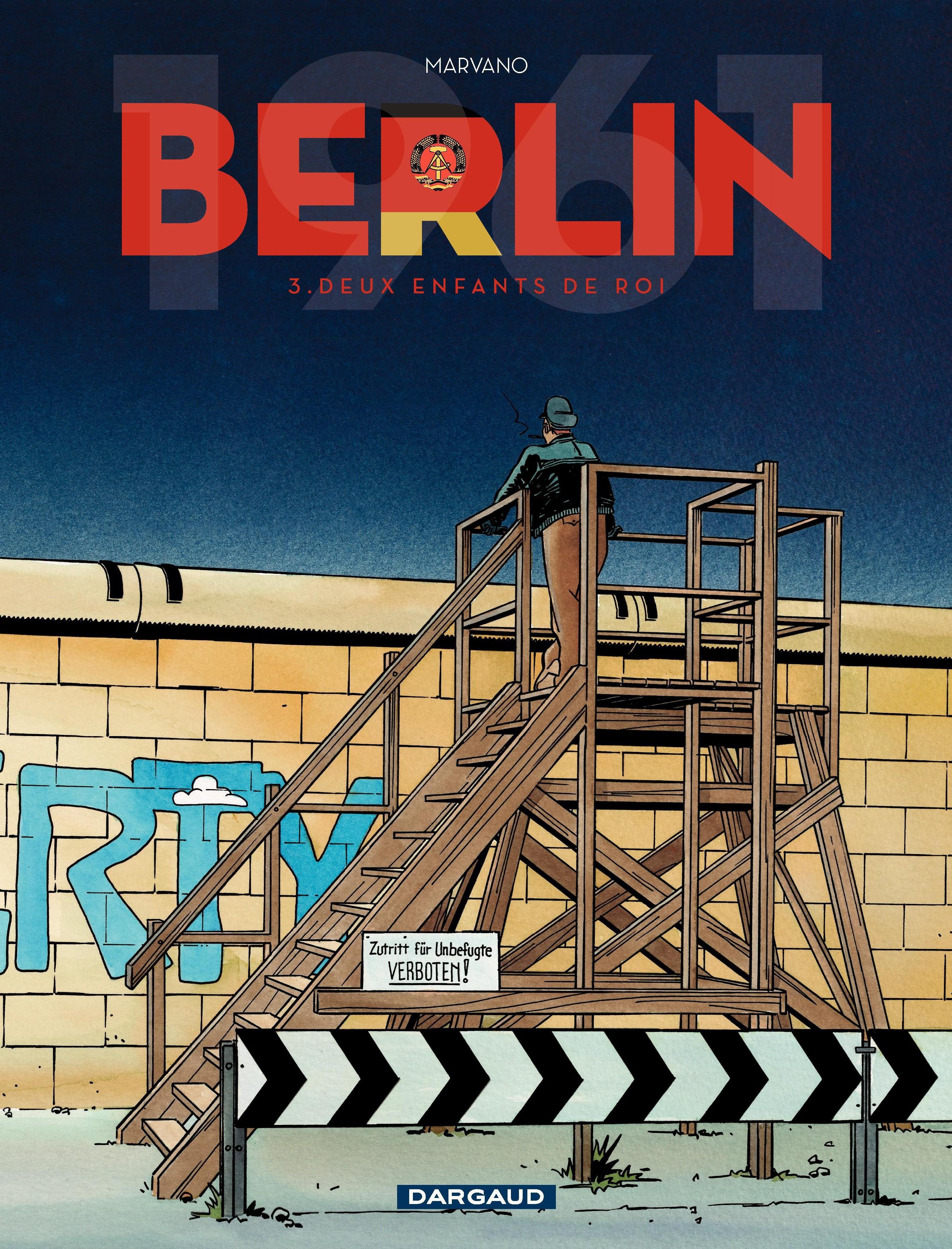 Berlin - tome 3 - Deux enfants de roi | Marvano,