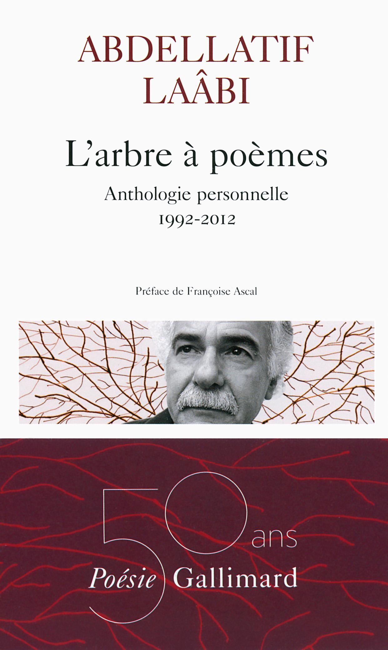 L'arbre à poèmes. Anthologie personnelle 1992-2012