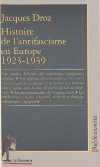 Histoire de l'antifascisme ...