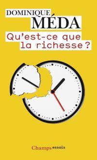 Image de couverture (Qu'est-ce que la richesse ?)
