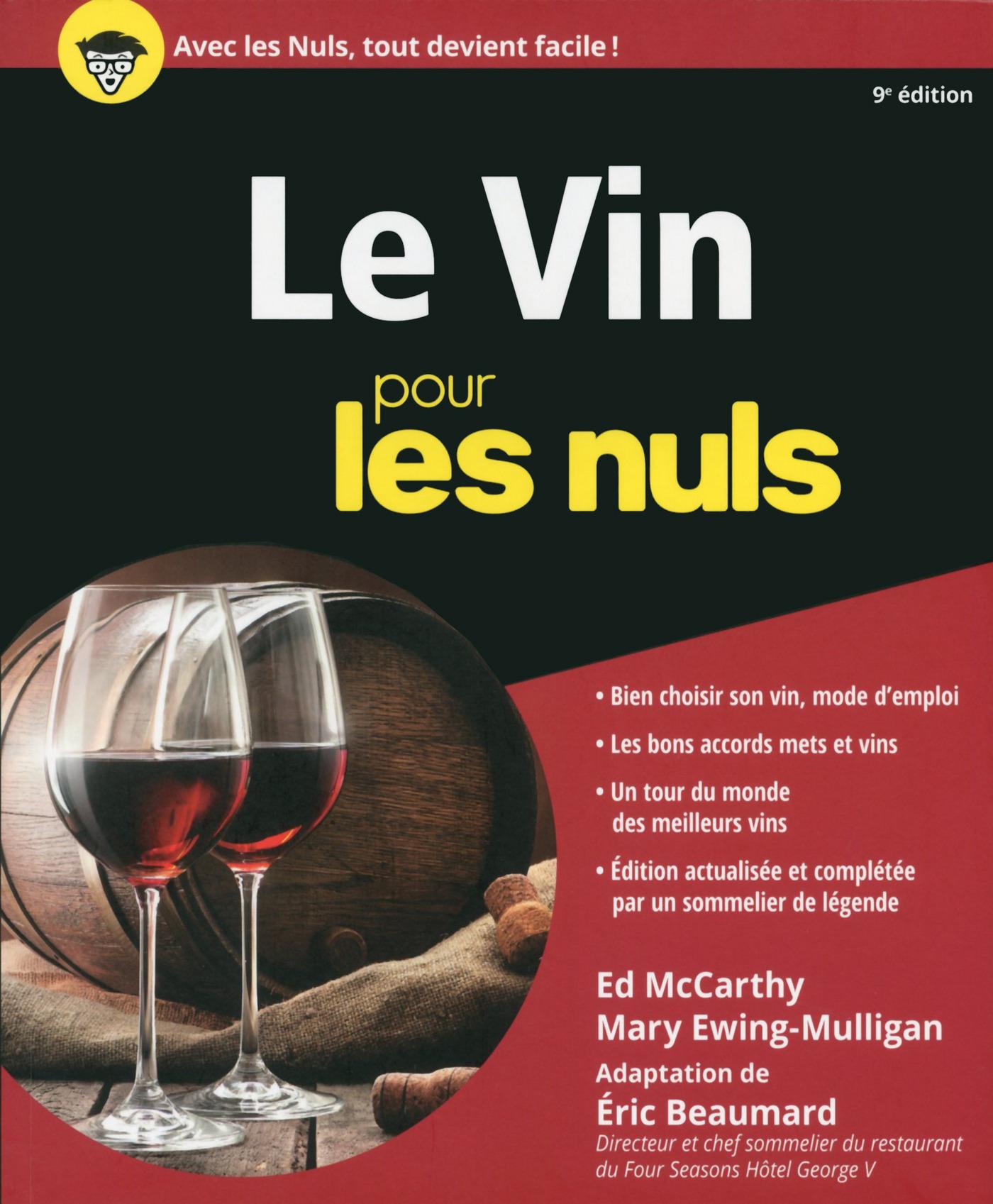 Le Vin pour les Nuls, 9e édition