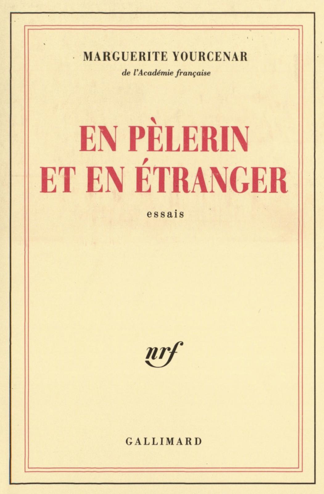 En pèlerin et en étranger