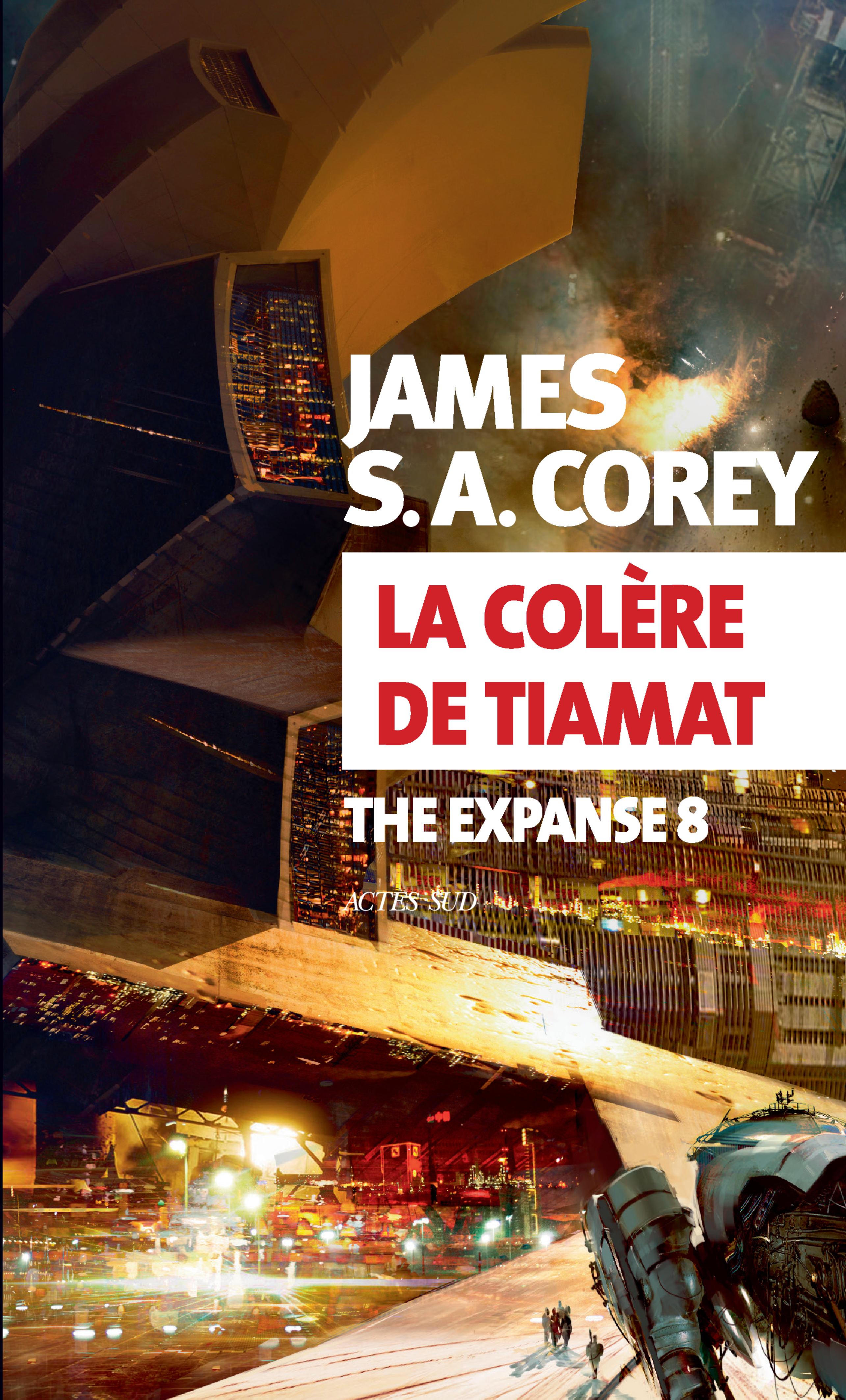 LA COLERE DE TIAMAT - THE EXPANSE 8