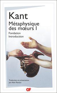 Image de couverture (Métaphysique des mœurs - Fondation – Introduction (Tome 1))