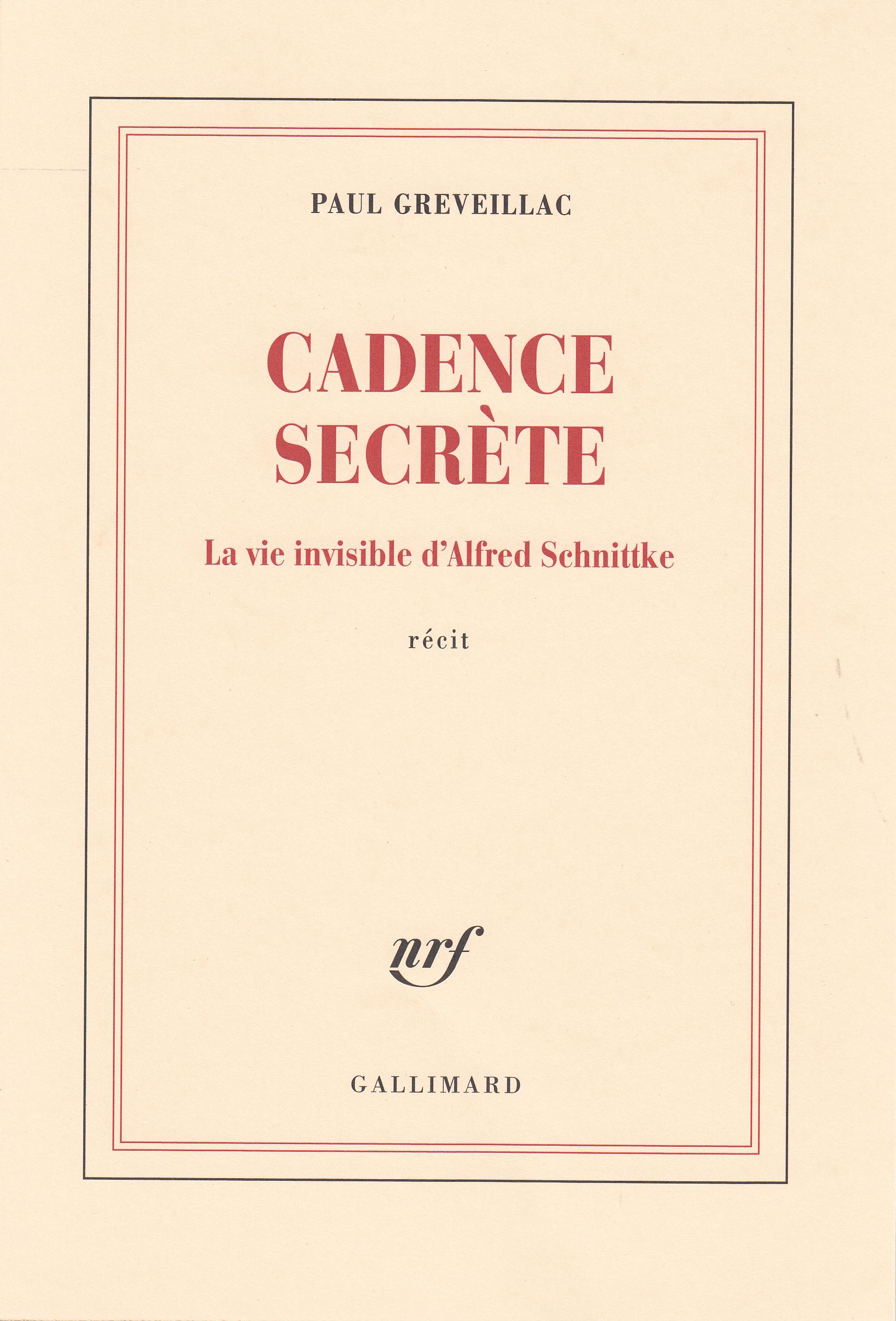 CADENCE SECRETE