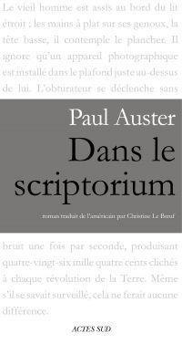 Dans le scriptorium | Auster, Paul. Auteur