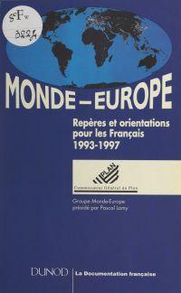 Monde-Europe. Repères et or...