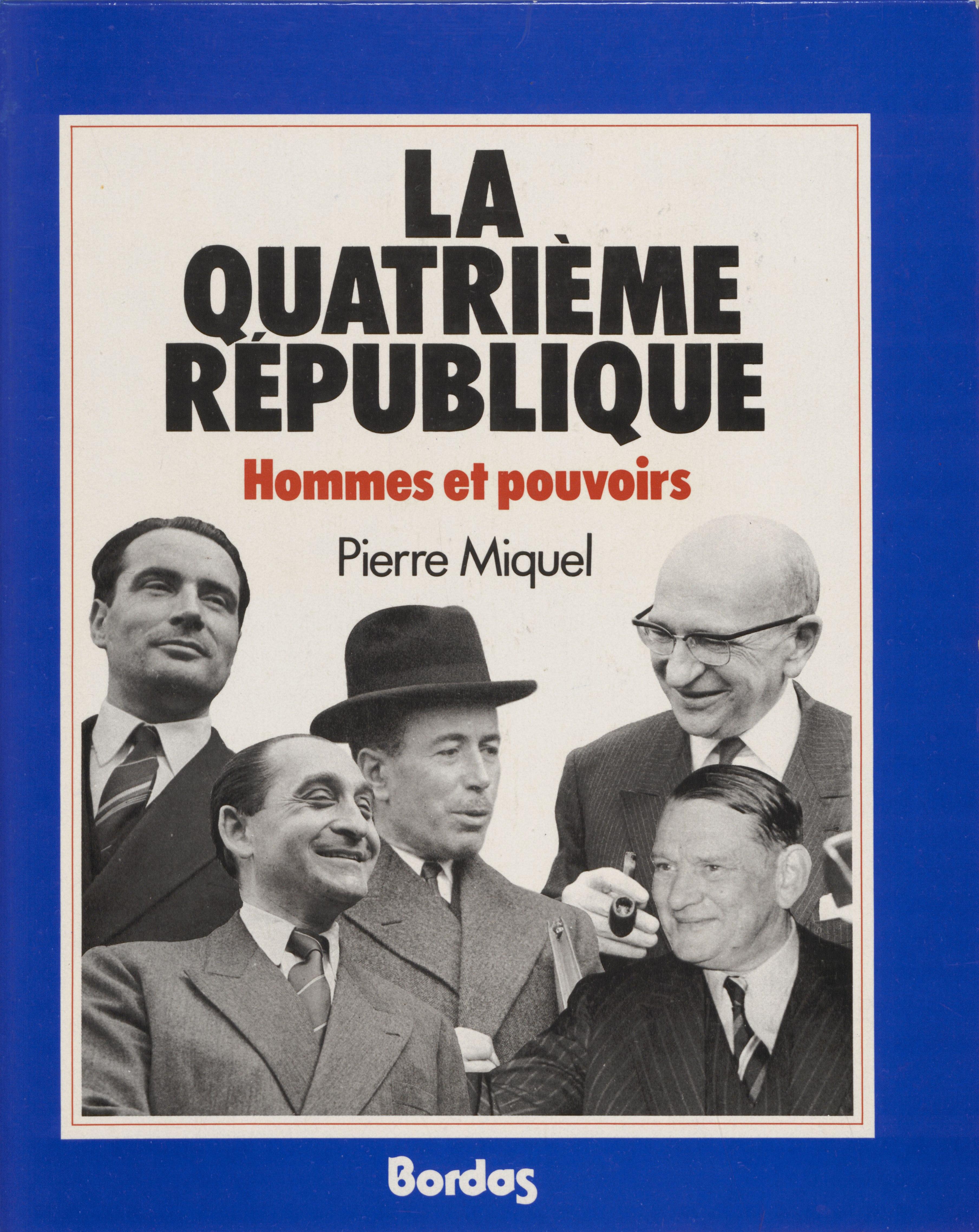 La Quatrième République : h...