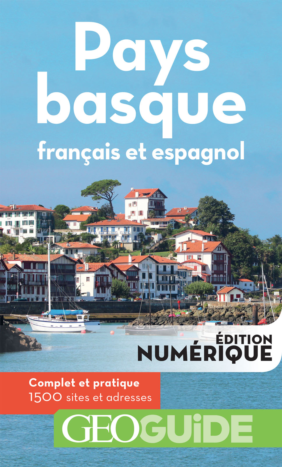 GEOguide Pays basque (français et espagnol) | Collectif,