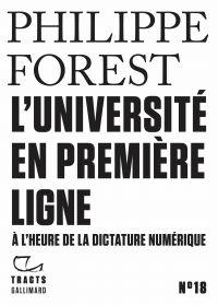 Image de couverture (Tracts (N° 18) - L'Université en première ligne)