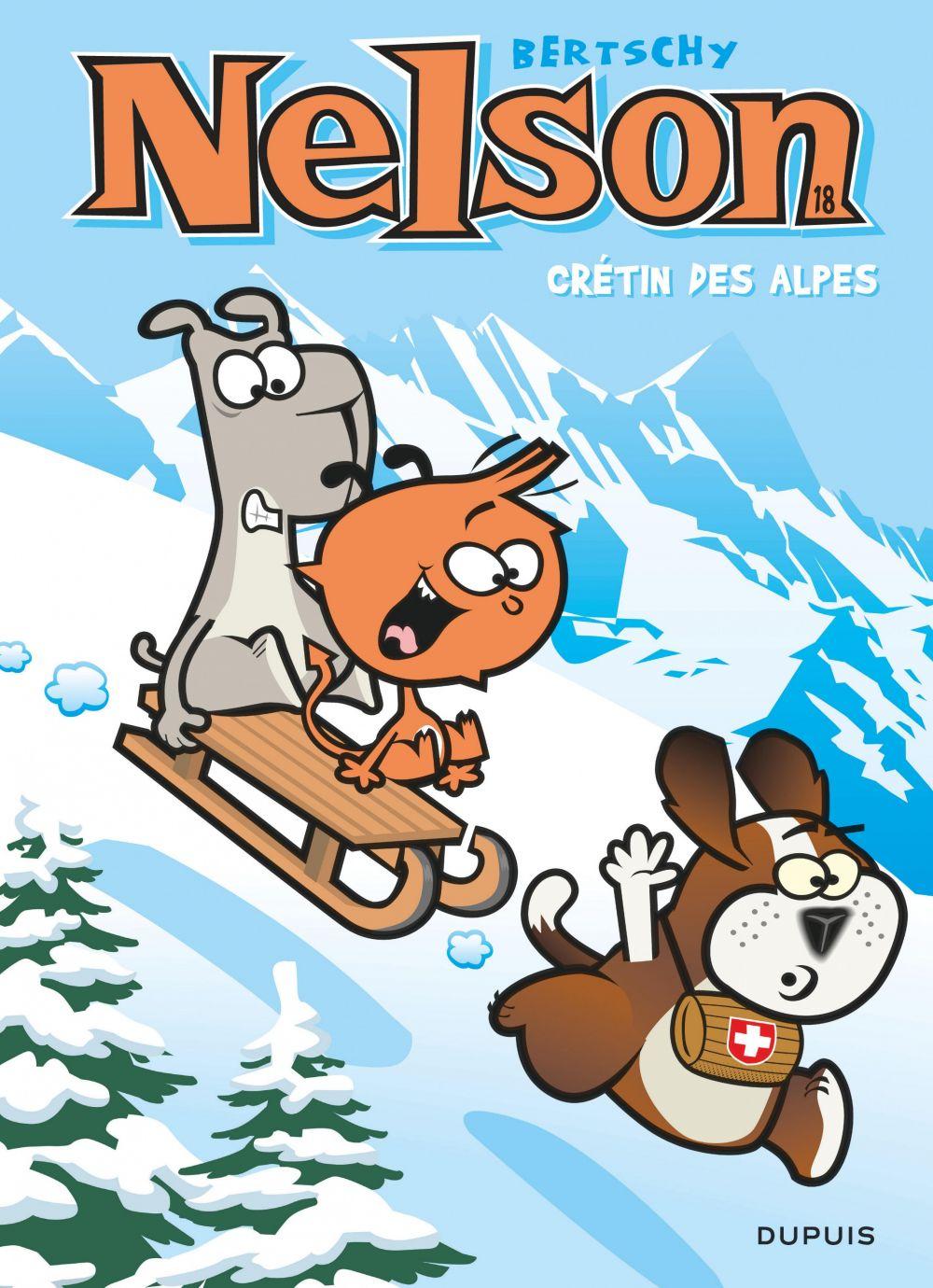 Nelson - Tome 18 - Crétin des Alpes   Bertschy, . Auteur