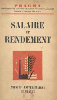 Salaire et rendement
