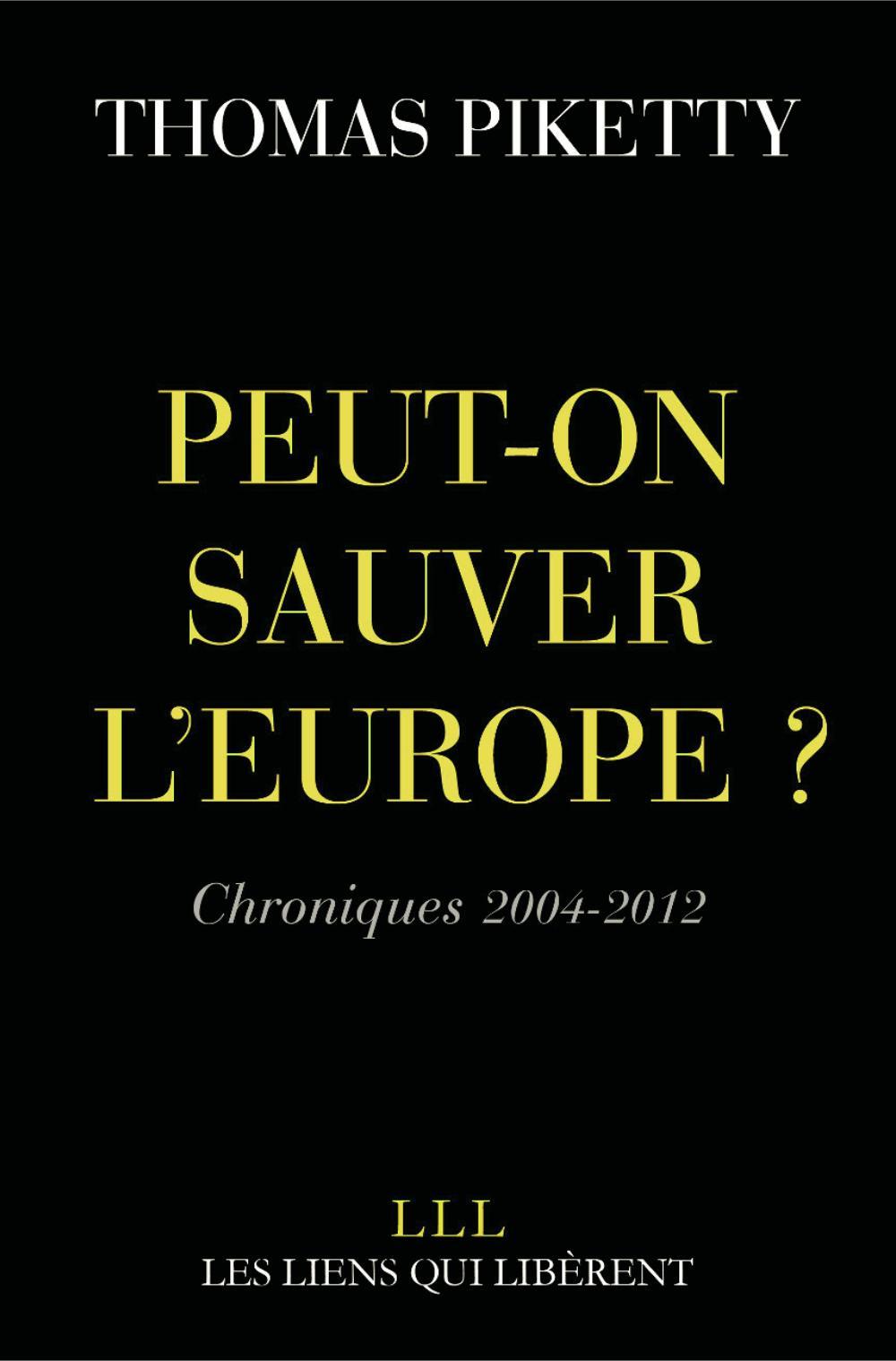 Peut-on sauver l'Europe ? |