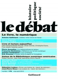 Le Débat n°170 (mai-août 2012)
