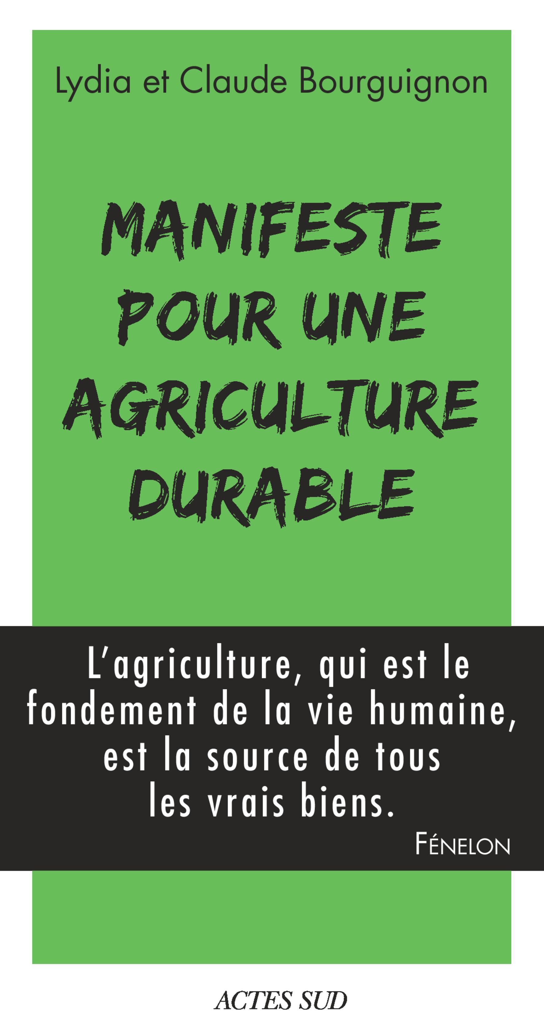 Manifeste pour une agricult...