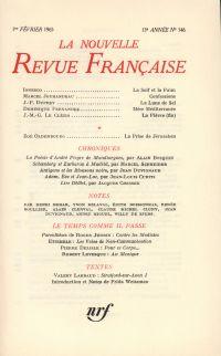 La Nouvelle Revue Française N' 146 (Février 1965)