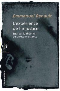 L'expérience de l'injustice